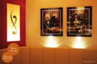 Mikrozement fugenlose Volimea Wandbeschichtung im Bar-Bereich - Mais VO-05