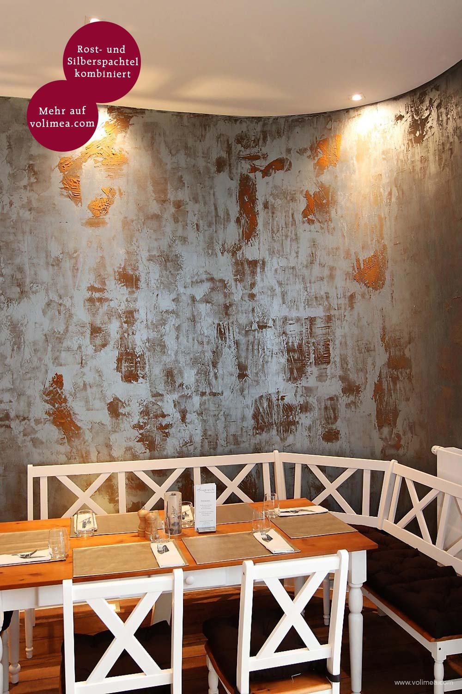 Mikrozement fugenlose Grandezza Wandbeschichtung Whiskeyburg - Bronze