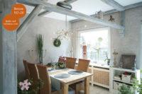Mikrozement fugenlose Volimea Wandbeschichtung im Küchenbereich - Beton-VO-20