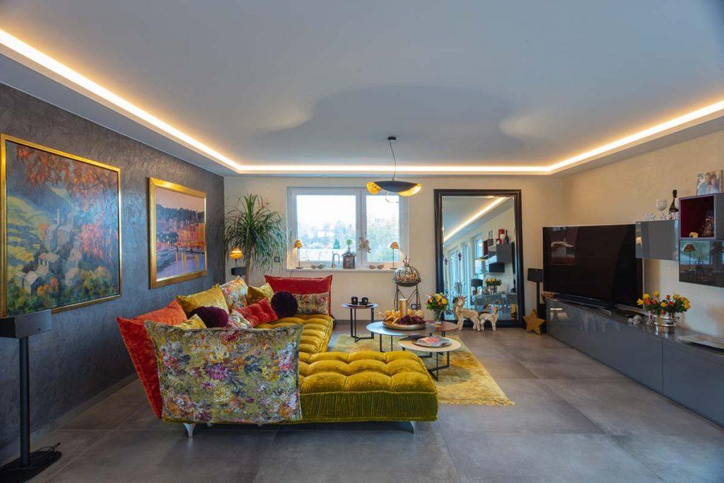 Wandgestaltung-wohnzimmer