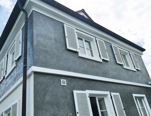 Fassadenbeschichtung mit Exterio Lotus